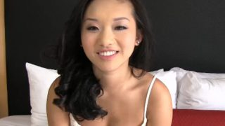 Cute Asian Teens First Time Try Porn Audition